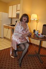 new69497-IMG_9631t (Misscherieamor) Tags: tv feminine cd silk chiffon tgirl transgender mature sissy tranny transvestite slip kimono satin crossdress ts gurl petticoat tg travestis travesti travestie m2f xdresser tgurl
