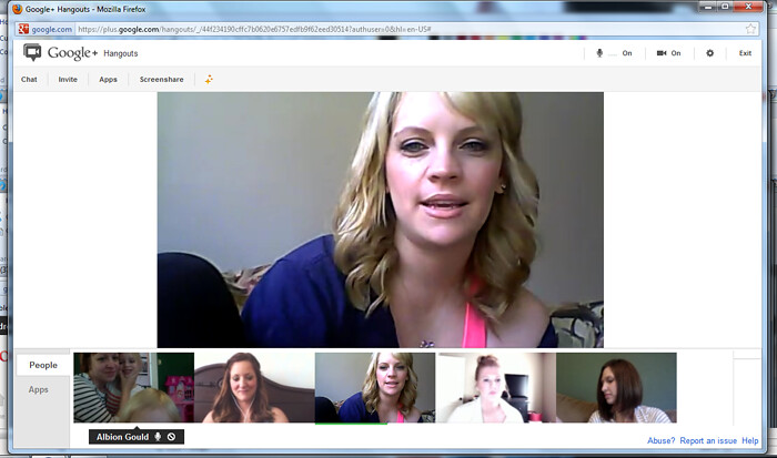google chat session