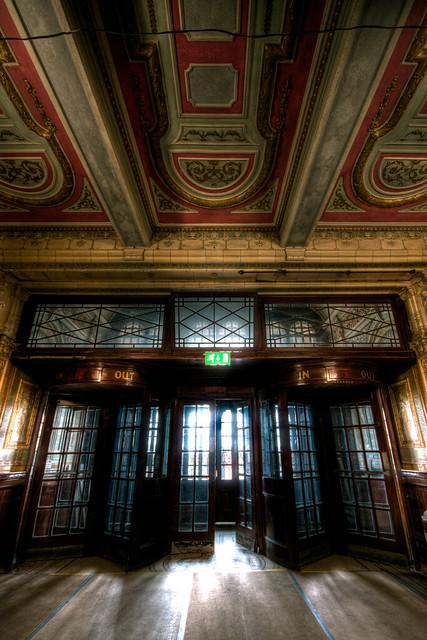 Theatre Lobby Area.