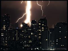 Bangkok (ooka medias - 800K views : TY !) Tags: city storm night buildings thailand big media bangkok flash huge thunderstorm lightning orage medias ooka totallythailand ookamedias