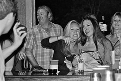 IMG_5845.2 (artcphoto) Tags: bw beer bar tampa fun florida cigarette drinking outpost