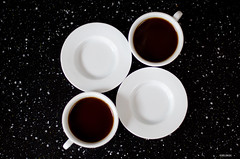 Coffee Time! ~ Explore (BGDL) Tags: kitchen coffee explore saucers niftyfifty espressocups nikond7000 ourdailychallenge elementsorganizer