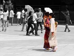 0536 (Edit) Meiji Shrine - Shibuya, Tokyo (Traveling Man  Traveling, back soon) Tags: woman japan umbrella asian japanese tokyo women shrine asia shibuya  nippon  kimono shinto nihon meiji  eastasia  shintoism    jing shint shibuyaku emperormeiji canonef24105mmf4lisusm nihonkoku nipponkoku canoneos50d empressshken nagarezukuri kanpeitaisha   markaveritt azekurazukuri
