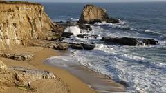 Lost in the Moment (Tōn) Tags: ocean california ca santacruz seascape beach landscape hug kiss waves unitedstates pacific wave pacificocean bonfire embrace canonef24105mmf4lisusm ruggedcoast holeinthewallbeach canoneos5dmarkiii tonyvanlecom