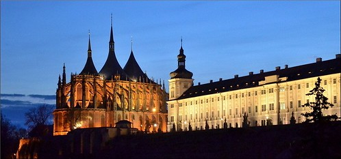 Blue Hour at Kutná Hora