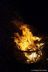 Sprinkle of fire (trdastidar) Tags: india fire lowlight nikon raw kerala wayanad kalpetta meppadi d80 lanternstay