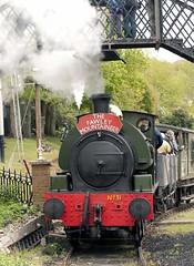 Hudswell Clarke 0-6-0ST No.31 (big-ashb) Tags: train canon hill railway steam 10d clarke fawley no31 060st hudswell
