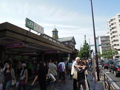 Harajuku Station exterior (kevincrumbs) Tags: station tokyo shibuya jr harajuku   yamanoteline   jreast   jr harajukustation shibuyaku