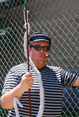 (firebusher) Tags: coneyisland fisherman cigar parade mermaid 2012