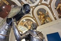 """Ausstellungsansicht """"I cavalieri dell'imperatore"""""""