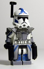 Custom LEGO Phase 2 Arc Trooper Fives from Season 4 (JPO97Studios) Tags: 2 trooper season army star lego 4 arc wars cac clone phase decals pistols customs the fives dc17 mmcb jpostudios jpo97studios