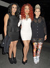 Karis Anderson, Courtney Rumbold and Alexandra Buggs of Stooshe Arqiva Commercial Radio Awards 2012 London, England