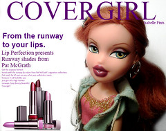 Isabelle For TopModelz24's BNTM: Covergirl (•Caboose•) Tags: red 3 hair ginger dolls d ninja contest competition shades isabelle lip unicorn sparkly runway epic xd perfection poptart bratz covergirl bntm fints topmodels24