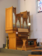 Eindhoven - RC Church of Saint Anthony of Padua, organ (pietbron) Tags: church netherlands nederland kirche organ kerk eglise orgel noordbrabant orgue