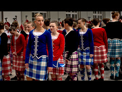 Ailsa Craig Highland Dancers (Sibilus_Basilea) Tags: blue school red tattoo switzerland scotland ross dance kilt dancers dress purple basel parade highland craig wallace ailsa plaid mcrae macgregor tartan 2012 robertson kneesocks highlanddance conchra