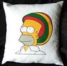 Almohadón homero rasta (Lady Krizia) Tags: tv simpsons cine pillow series reggae homero rasta vinilo animacion rastafari wilwarin estampado almohadon termoestampado