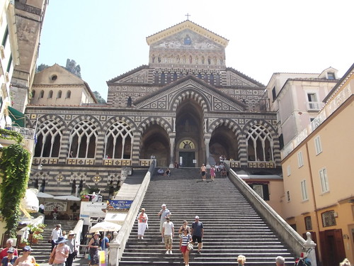 Amalfi Cathedral - Piazza del Duomo, Amalfi - steps