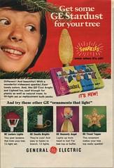 1971 GE Stardust Ad (JeffCarter629) Tags: christmaslights stardust vintagechristmaslights generalelectricchristmas gechristmas gestardust