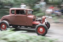 Model A coupe on the hill climb (zombikombi1959) Tags: uk england motion blur ford speed modela hotrod custom panning coupe detonators hillclimb bisley hotrodhayride8