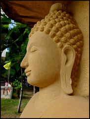 'Buddha Image...'  Kalasin,  Thailand (larryoien) Tags: art beauty thailand wonderfulworld beautifulcapturegroup