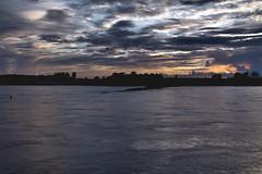 SUNSET ON THE MISSISSIPPI (midge3426) Tags: mississippiriver memphistennessee lowmississippiriver mississippiriveratmemphs arkansaswaterfront