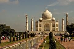 Taj Mahal from front gate