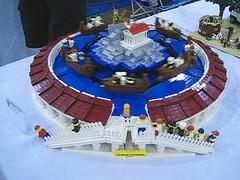 The Wrath of Poseidon in Motion (AB Quest) Tags: greek ride lego va poseidon wrath 2012 brickfair