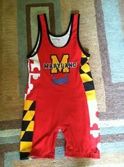 Maryland got crabs singlet BRAND NEW FOR SALE front (Mdwrestling22) Tags: new for shoes sale wrestling worn brand singlets trademakebestoffer
