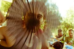 Artificial wind. (stars`bread) Tags: friends summer portrait estate été amis amici ritratto francesco paople grizzana canoneos1000d
