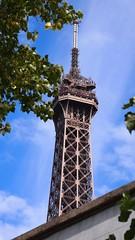 Cloud shining on Tour Eiffel (Daniel Francis May) Tags: cloud paris tour eiffel shining