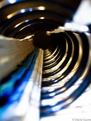 220/366 (Marie l'autre) Tags: blue macro canon project catchycolors notebook dof ixus bleu 365 2012 spirale projet carnet 366 project365 projet365 project366 marielautre 100is projet366 olderbutnotold 2012inphotos