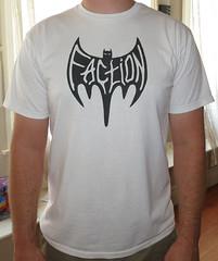#394 Faction - Bat.JPG (Minor Thread) Tags: white rock shirt punk bat skate batman thrasher minorthread oddmanout stevecaballero faction