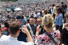 West Point Graduation 2012 (Colin Meusel (colinroots)) Tags: usa newyork west men river point soldier army women bars uniform stripes military graduation ceremony upstate service hudsonriver hudson newyorkstate commencement tradition generations academy officer westpoint cadets 2012 cadet meninuniform womeninuniform classof2012