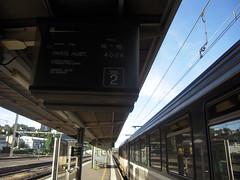 GARE DE POITIERS (marsupilami92) Tags: frankreich france sudouest poitoucharentes train corail gare poitiers sncf 86 vienne intercités