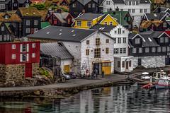 Tórshavn Harbour Scene #2 (K. Ratzer) Tags: harbour sommer hafen oilpainting 2012 färöer thorshaven pixelbenderoilpaint klausratzer
