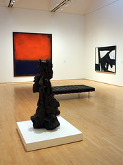 Tientos, by Peter Voulkos (JB by the Sea) Tags: sanfrancisco california painting modernart sfmoma markrothko sanfranciscomuseumofmodernart petervoulkos july2012