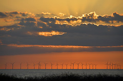 SUNRISE OVER BOTANY BAY  (107) (DESPITE STRAIGHT LINES) Tags: uk morning sea england sky cliff cloud sunlight seaweed beach wet water silhouette rock clouds sunrise dawn bay coast boat chalk kent seaside am sand nikon rocks waves ship power cloudy sandy tide shoreline silhouettes wave vessel cliffs coastal shore coastline rays sunrays botanybay tidal windfarm goldenhour turbines rayoflight firstlight broadstairs thegoldenhour offshorewindfarm botanybaykent d7000 nikon18105mmvr nikongp1 botanybaybroadstairs nikond7000 sunriseoverbotanybay botanybayuk