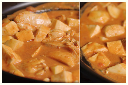 Chicken, Potato & Peanut Stew
