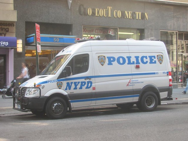 nyc police nypd policecar dodge sprinter
