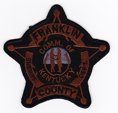 KY - Franklin County Sheriff's Department Subdued (Inventorchris) Tags: county public franklin office peace cops kentucky ky police safety cop service law enforcement sheriff patch emergency patches department officer services officers subdued sheriffs departments