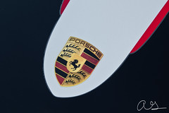 Porsche 997.2 GT3RS 4.0 (Monkey Wrench Media) Tags: red arizona horse black sport silver germany emblem logo stuttgart 4 911 stripe az german porsche badge scottsdale 40 rs liter litre gt3 renn gt3rs 9972 rennsport carsandcoffee 4liter
