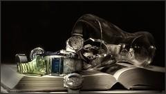 Wasting Time (www.pedroferrer.com) Tags: espaa stilllife lightpainting clock cup glass canon vintage eos gold book luces spain espanha europa europe watches time watch libro estudio bodegn reloj espagne sombras copa texturas spanien dorado espagna naturemorte tiempo composicin relojes naturalezamuerta iluminacin 50d canoneos50d pedroferrer pedroferrerfotografia httpwwwpedroferrercom