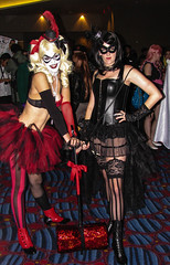 20120902-IMG_4866.jpg (DuckPuppy) Tags: costume lingerie catwoman dragoncon harleyquinn