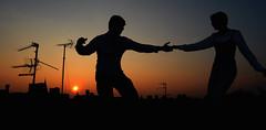 (M. G.. W...) Tags: cambridge sunset people dance nikon dancing swing lindyhoppers d90
