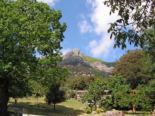Mont San Petrone en Castagniccia