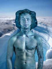 Water (alanericcarter) Tags: blue snow ice water norway composite model nikon shadows cyan highlights clean elements abs sixpack