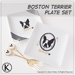 "Boston Terrier Plates & Forks <a style=""margin-left:10px; font-size:0.8em;"" href=""http://www.flickr.com/photos/94066595@N05/13690873284/"" target=""_blank"">@flickr</a>"
