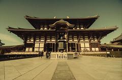Great Buddha Hall - Todai-ji (J. Damasio) Tags: japan ji yard outside temple hall nikon day path buddha great front tokina nara todaiji todai 1116 d7000