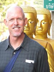 Bangkok market - M. Lee and the Buddhas - Thailand (ashabot) Tags: people art thailand seasia cities statues citystreets streetscenes marketscenes