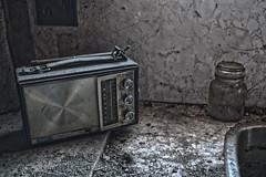 Great Reception (CrazyCarClub) Tags: urban house rotting radio decay retro forgotten rotten exploration hdr ue urbex rurex crazycarclub